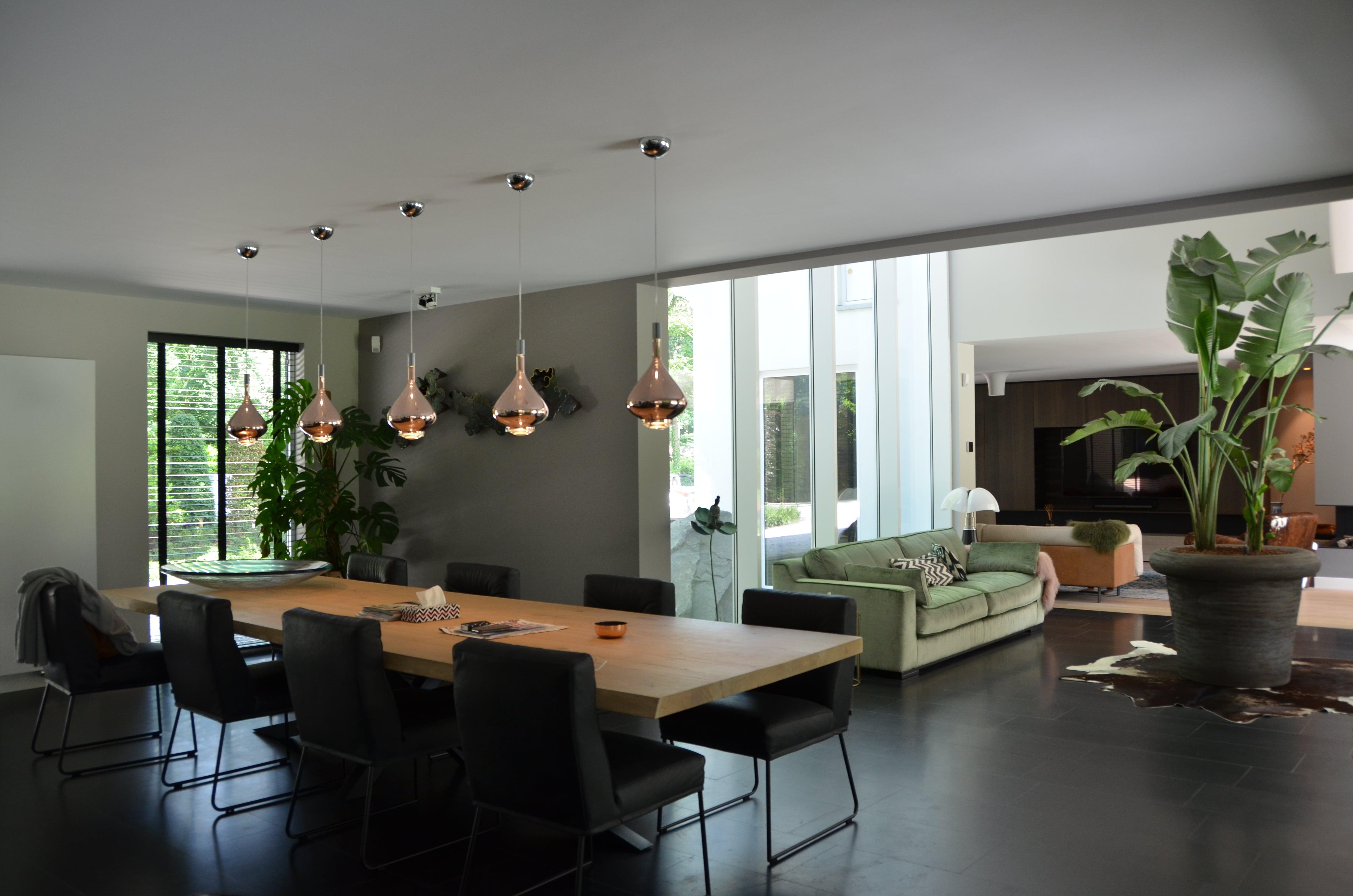 interieur van een compleet verbouwde en vergrote woning kenmerken van dit project modern