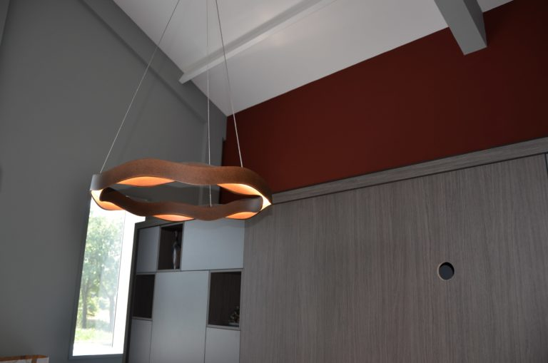 drijvers-oisterwijk-veterinair-centrum-armatuur-modern-interieur-nieuwbouw-natuur-dieren-verlichting-rood-strak (1)-min