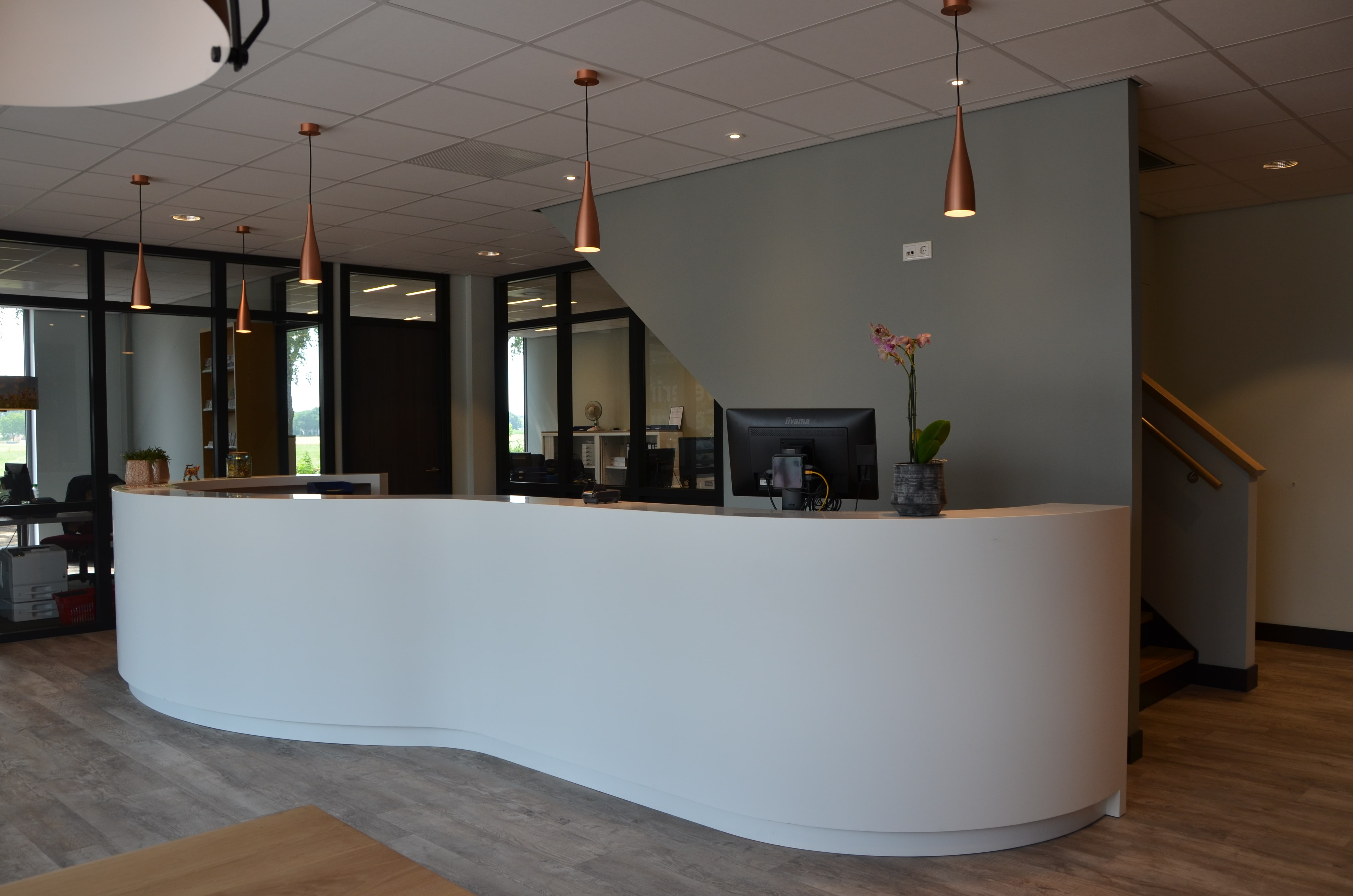 interieur veterinair centrum kenmerken van dit project modern