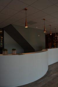 drijvers-oisterwijk-veterinair-centrum-balie-verlichting-entree-solid-surfacemodern-interieur-nieuwbouw-natuur-dieren-verlichting-rood-strak (31)-min