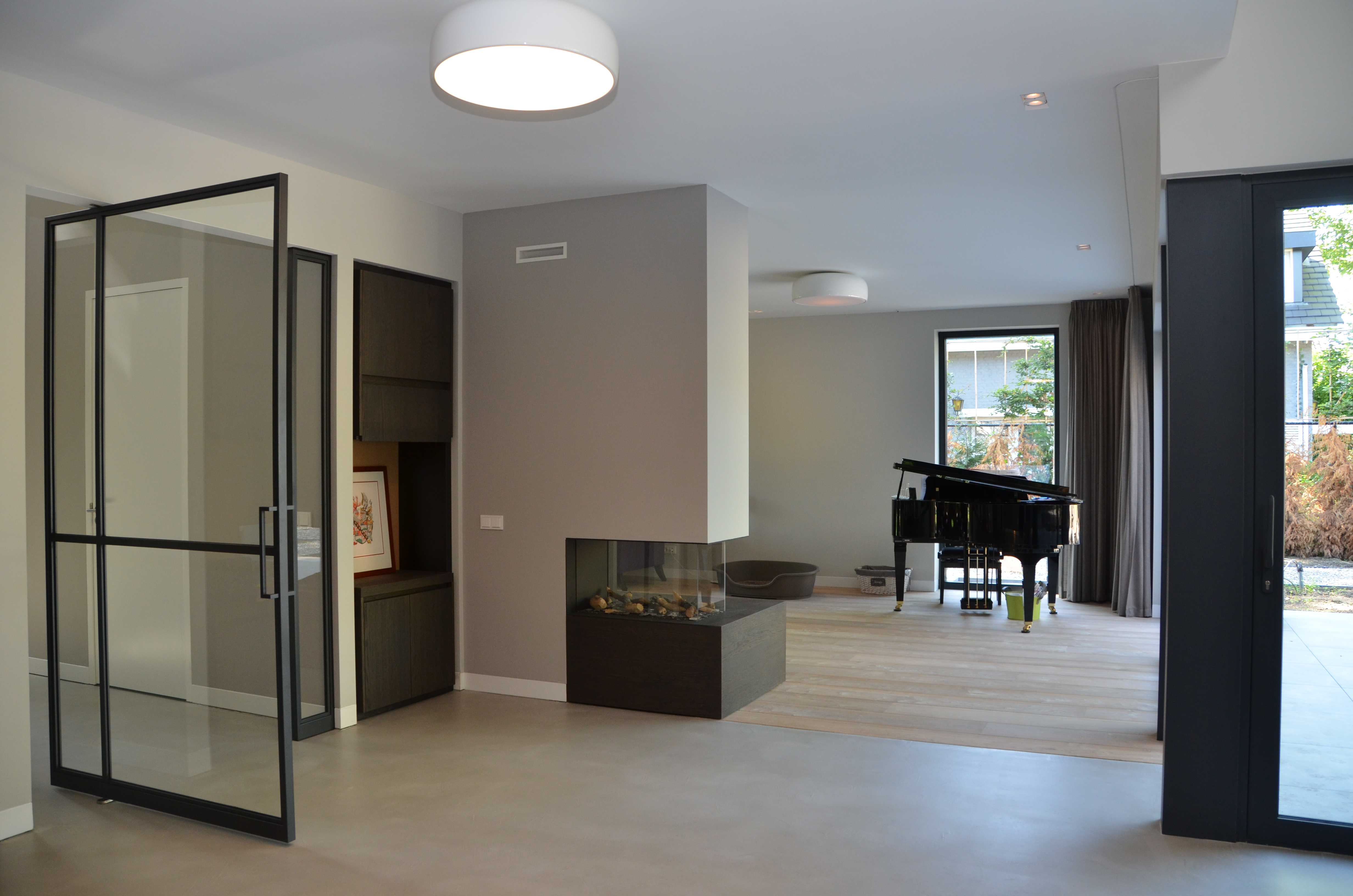 Interieur nieuwbouw villa u architectenbureau drijvers oisterwijk b v