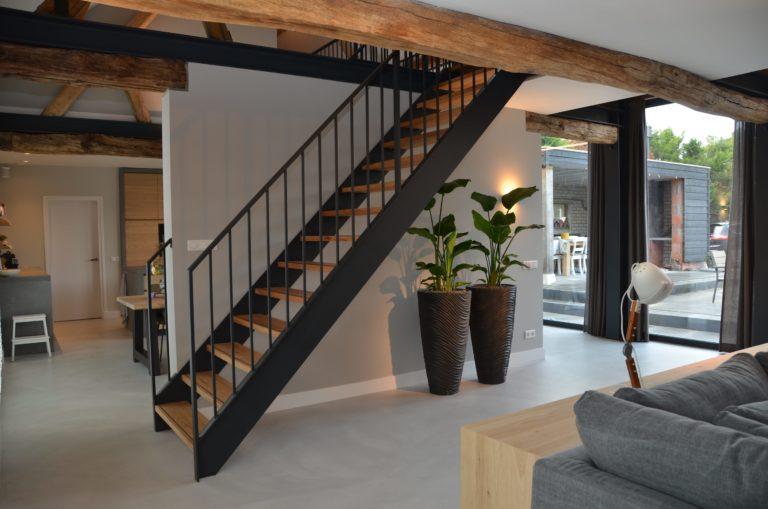 Drijvers-Oisterwijk-interieur-restauratie-modern-landelijk-houten-spant-strak-licht-maatwerk (12)