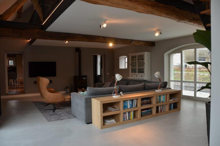 Drijvers-Oisterwijk-interieur-restauratie-modern-landelijk-houten-spant-strak-licht-maatwerk (5)