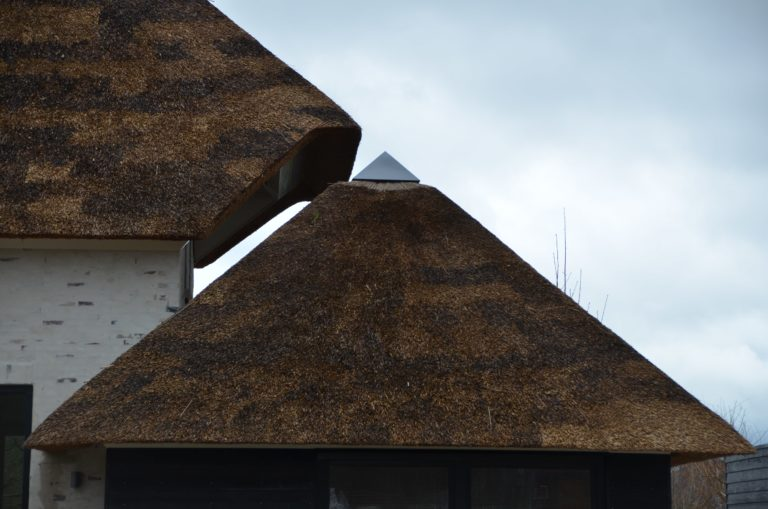 drijvers-oisterwijk-villa-nieuwbouw-exterieur-metselwerk-hout-gevel-riet-kap (3)