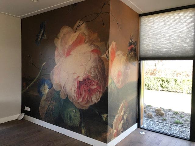 drijvers-oisterwijk-villa-Giersbergen-interieur-landelijk-modern-behang-bloem